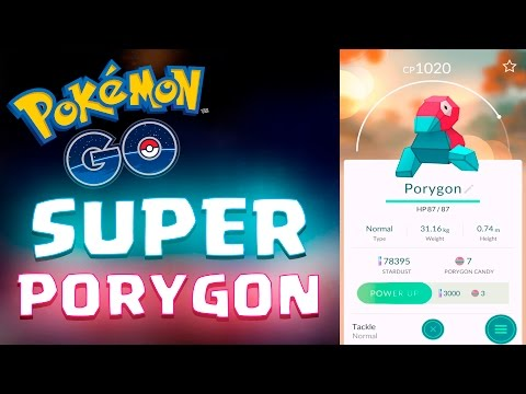 SUPER PORYGON Pokemon Go RARE 5KM EGG HATCH