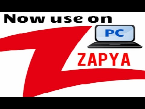 How to use Zapya on Computer or Laptop in Urdu/hindi