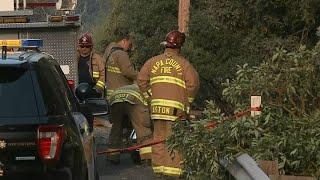 FATAL CRASH:  Cal Fire spokesman David Shew reveals details of fatal water tender crash