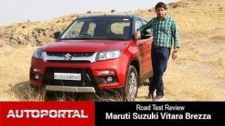 Maruti Suzuki Vitara Brezza Test Drive Review - Autoportal
