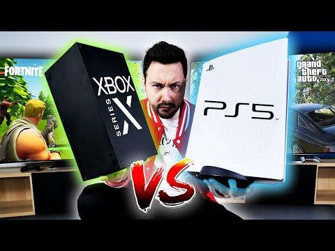 PS5 VS Xbox Series X le Gros Comparatif rapidité gameplay