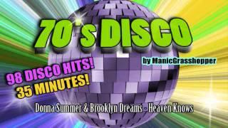 70's Disco Compilation • 98 Disco Hits!!