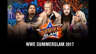 WWE SummerSlam 2017 Full Show HD - WWE SummerSlam 20 August 2017 Highlights Show HD