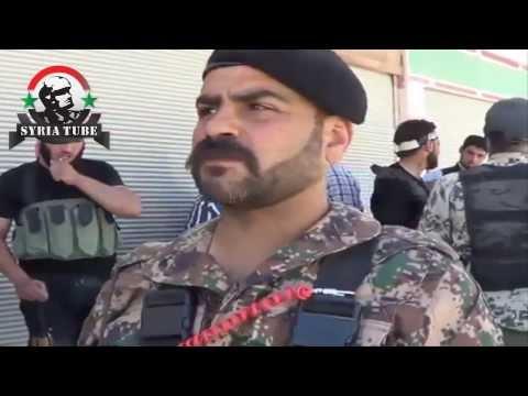 درعا مقتل الجرذ اسامة اسلوط قائد كتيبة صياد الاسود بطلقة أسدية
