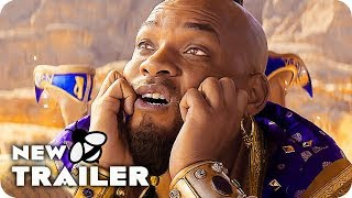 ALADDIN Genie Scene & Trailer (2019) Live Action Disney Movie