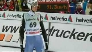Simon Ammann 141m - Engelberg K125 2009