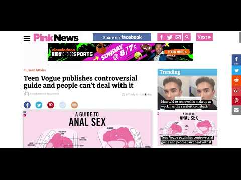 Xxx Mp4 Anal Sex Now Taught To Teens In Teen Vogue Magazine 3gp Sex