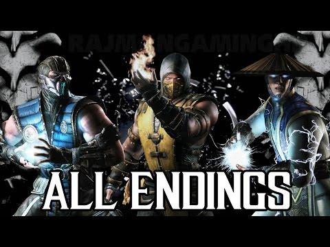 Mortal Kombat X - All Character Endings [1080p] TRUE-HD QUALITY