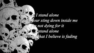 Godsmack - I stand alone lyrics
