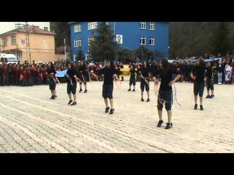 Sinop Dikmen Cumhuriyet YİBO 23 Nisan Dans Gösterisi