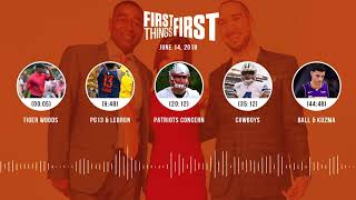 First Things First audio podcast(6.14.18) Cris Carter, Nick Wright, Jenna Wolfe | FIRST THINGS FIRST