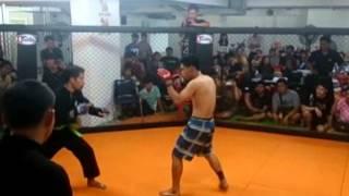 MMA War in the cage 4 silat vs muaythai
