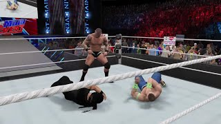WWE 2K15 John Cena  vs Roman Reigns