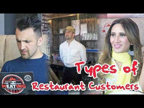Types of Restaurant Customers OZZY RAJA