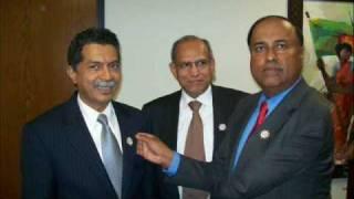 Ambassador Humayun Kabir with USBBF at LA consulate