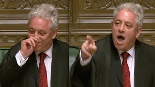 "Speaker John Bercow forced to bite the dust after telling MP Hands ""he wasn"