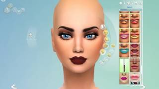 Sims 4-Ugly to Beauty challenge