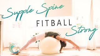 SUPPLE SPINE FITBALL STRONG