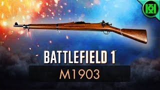 Battlefield 1: M1903 Review (Weapon Guide) | BF1 Weapons | Springfield M1903 Gameplay (Sniper)