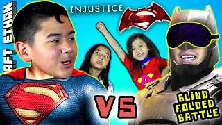 BATMAN vs SUPERMAN - Dawn of INJUSTICE  w/ Minecraft Ethan, Emma, Aubrey & Special Guest