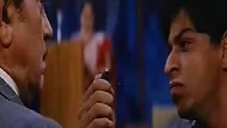 Baadshah 1999 Funny Scene Shahrukh Khan And Amrish Puri
