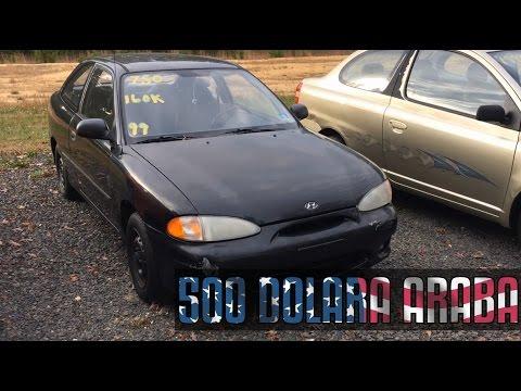 Amerika`da 500 Dolara Araba! İkinci El! Vlog #17