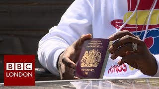 Fighting for a British Passport - BBC London