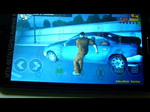 GTA III On Xtouch X506 لعبة جي تي ايه على اكس تاتش اكس 506