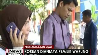 Seorang siswi SMA di Palembang menjadi korban penganiayaan tetangga sendiri - iNews Petang 03/06