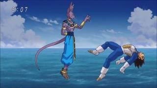 Dragon Ball Super DBZ Fighters Vs Beerus Highlights 720p