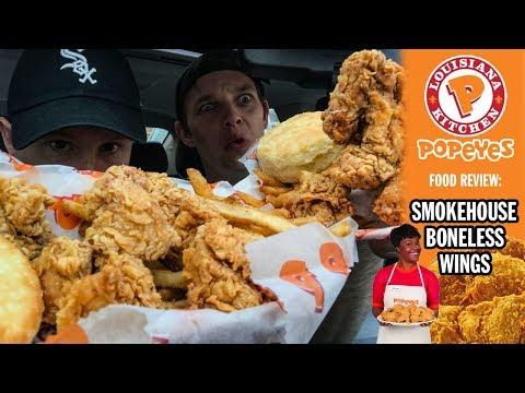 Xxx Mp4 Popeye 39 S Smokehouse Boneless Wings Food Review Season 4 Episode 49 3gp Sex