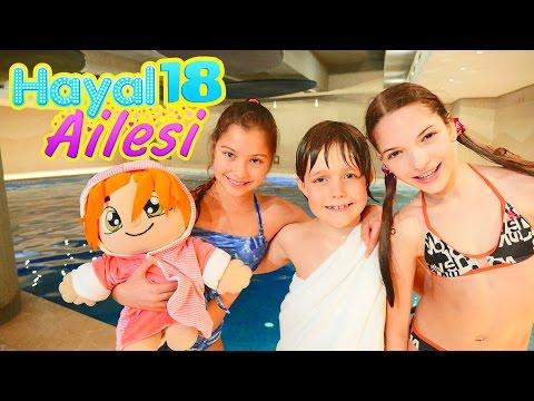 Hayal Ailesi 18 – çocuk dizisi türkçe. Sveta hala ile havuzda eğlence. Aile oyunu