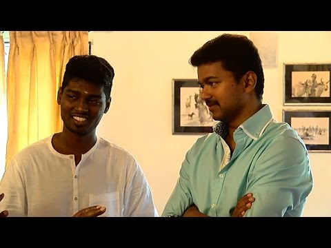 Actor Vijay's New Movie Launch -Director Atlee & Producer Kalaipuli S. Thanu Talks About Vijay