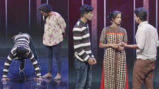 Nayika Nayakan l Sidhi, Nandu, Vincy &  Darsana in 4 the people round I Mazhavil Manorama