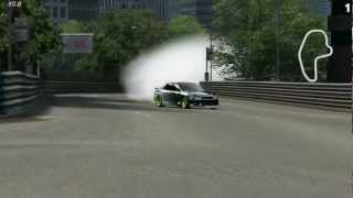 LFS 600HP Monster Energy Altezza Drifting Montage
