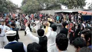 Pashto Attan On Culture Day at FC University Lahore .. 2012