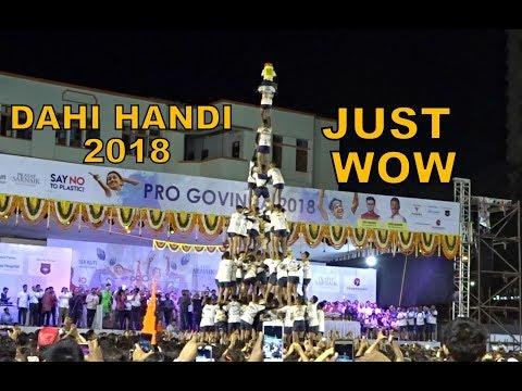 Xxx Mp4 DAHI HANDI 2018 Pro Govinda 2018 Mazgaon Tadwadi Govinda Pathak And Many More Special Coverage 3gp Sex