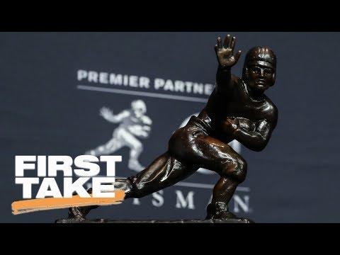 First Take debates early Heisman favorites First Take ESPN