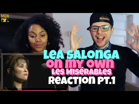 Lea Salonga - On My Own (Les Misérables) Reaction Pt.1