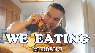 WE EATING | MUKBANG | QT