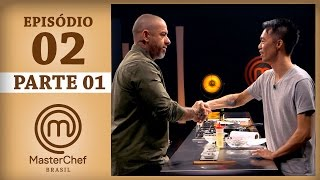 MASTERCHEF BRASIL (14/03/2017) | PARTE 1 | EP 2 | TEMP 04