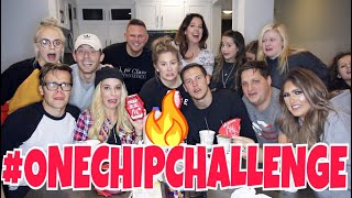 🌶️EPIC ONE CHIP CHALLENGE WITH BRATAYLEY+REBECCA+MADILYNBAILEY🌶️| Shawn Johnson