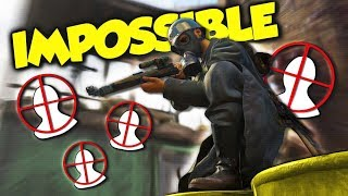 THIS IS IMPOSSIBLE... (COD WW2 Funny Sniping Challenges)