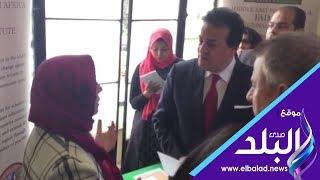 وزير التعليم العالي يفتتح وحدتي الكلى والتعقيم بمستشفيات عين شمس