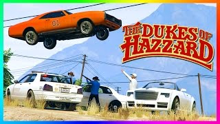 GTA ONLINE 'DUKES OF HAZZARD' FREEMODE SPECIAL - RARE GTA 5 VEHICLES, GENERAL LEE CAR & CHALLENGES!