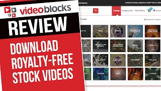 VIDEOBLOCKS Review - Download Royalty-Free Stock Videos, Backgrounds, and After Effects Templates