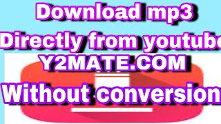 How to downlaod Mp3 music from youtube without converting in ios 11 updated (2018)