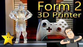 Form Labs Form 2 SLA 3D Printer Review, Spoiler, it's amazing!