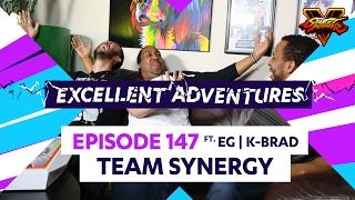 TEAM SYNERGY ft. EG K-BRAD! The Excellent Adventures of Gootecks & Mike Ross Ep. 147 (SFV S2)