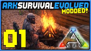 MODDED ARK: Survival Evolved - Ep 1 || A Tribe Is Born! (Ark Gameplay)